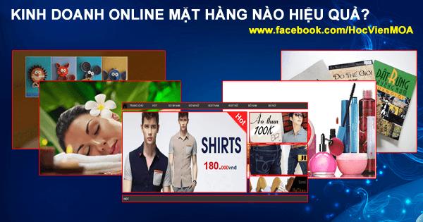 cac mat hang kinh doanh online tot