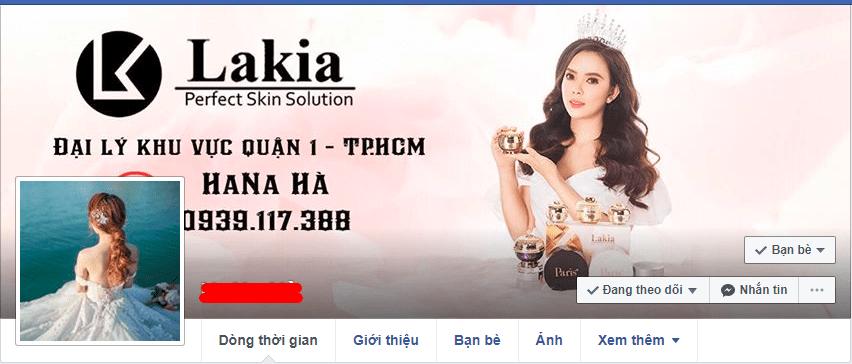 profile xịn khi kinh doanh mỹ phẩm online